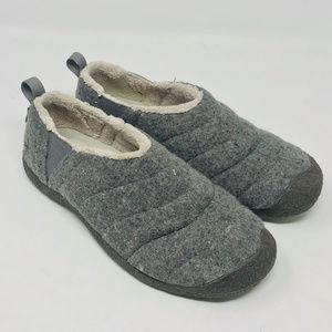 Women's Keen Felted Wool Clog Slipper Shoe
